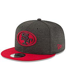 New Era San Francisco 49ers On Field Sideline Home 9FIFTY Snapback Cap