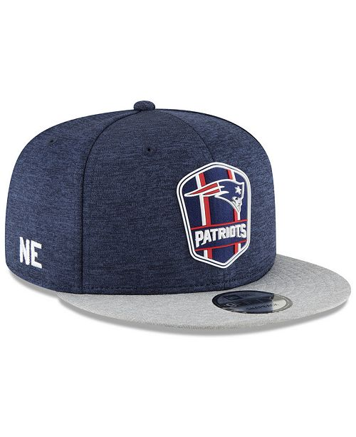 f034b60d0ba New Era New England Patriots On Field Sideline Road 9FIFTY Snapback ...
