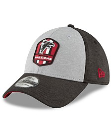 New Era Atlanta Falcons On Field Sideline Road 39THIRTY Stretch Fitted Cap