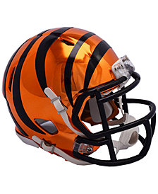 Riddell Cincinnati Bengals Speed Chrome Alt Mini Helmet