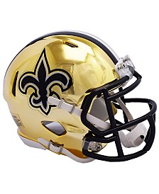 Riddell New Orleans Saints Speed Chrome Alt Mini Helmet