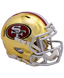 Riddell San Francisco 49ers Speed Chrome Alt Mini Helmet
