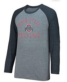Top of the World Men's Ohio State Buckeyes Triple A Raglan T-Shirt
