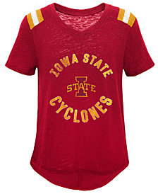 Outerstuff Iowa State Cyclones Retro Block T-Shirt, Girls (4-16)