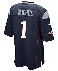 Men's Sony Michel New England Patriots Game Jersey