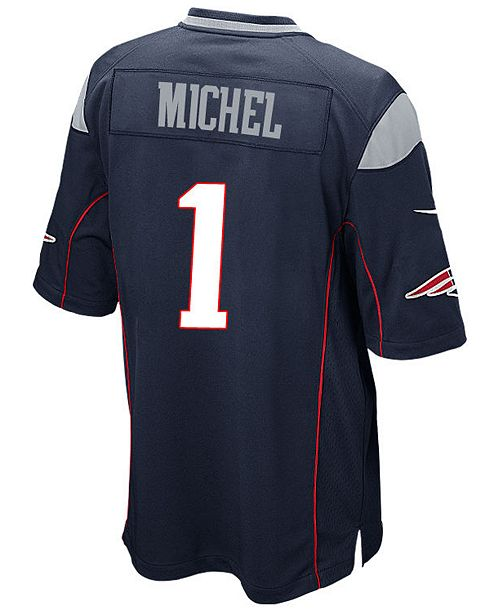 f85512ac962 Nike Men s Sony Michel New England Patriots Game Jersey   Reviews ...