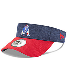 New Era New England Patriots On Field Sideline Visor