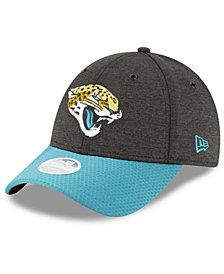 New Era Women's Jacksonville Jaguars On Field Sideline Home 9FORTY Strapback Cap