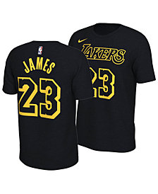Nike Men's LeBron James Los Angeles Lakers City Player T-Shirt