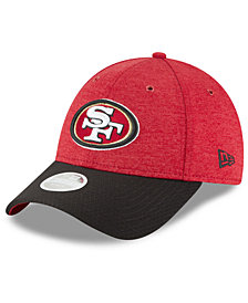 New Era Women's San Francisco 49ers On Field Sideline Home 9FORTY Strapback Cap