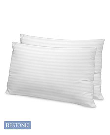 Restonic 2 Pack Luxury 500 TC Memory Fiber King Pillow