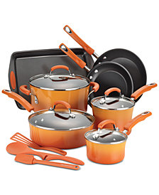 Rachael Ray 14-Pc. Non-Stick Cookware Set