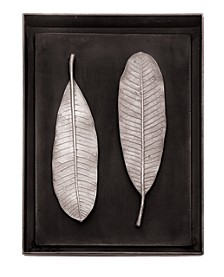 Champa Leaf Shadow Box
