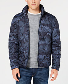 Michael Kors Men's Camo Packable Jacket