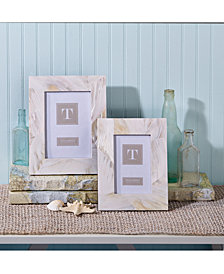 Ocean Sand Mother of Pearl Set of 2 Photo Frames