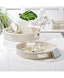 Set of 3 Round Trays