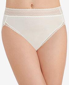 Vanity Fair Women's Flattering Lace Hi-Cut Panty 13280