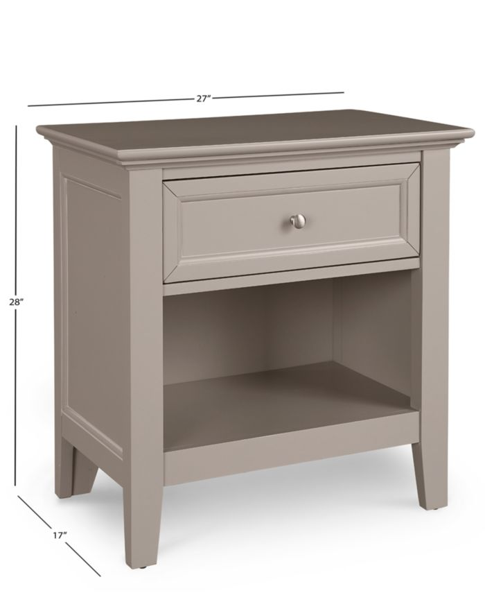 Furniture Sanibel Bedroom Furniture, 3-Pc. Set (Full Bed, Nightstand, and Dresser), Created for Macy's & Reviews - Furniture - Macy's