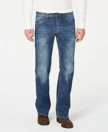 I.N.C. Men's Relaxed-Fit Stretch Jeans, Created for Macy's