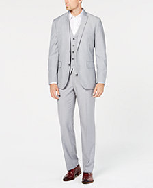 I.N.C. Men's Classic Fit Grey Blazer, Created for Macy's