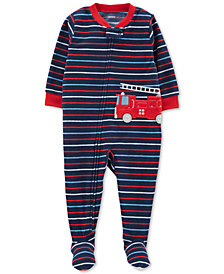 Carter's Baby Boys Fleece Footed Pajamas