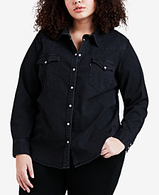 Levi's® Plus Size Denim Shirt
