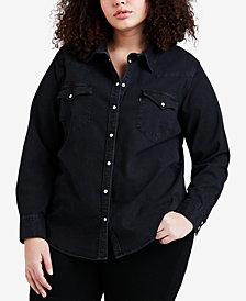 Levi's® Plus Size Denim Shirt