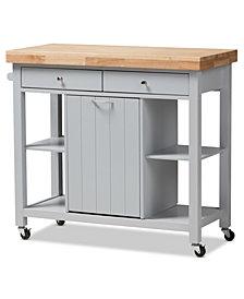 Hayward Kitchen Cart, Quick Ship