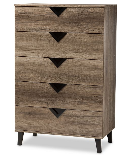 Furniture Wales 5-Drawer Chest