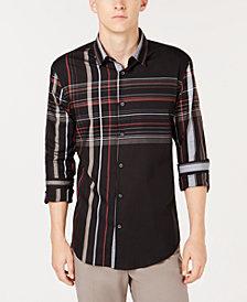 Alfani Men's Henrick Plaid Shirt, Created for Macy's