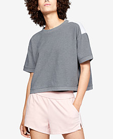 Under Armour Fleece Relaxed Cropped Top