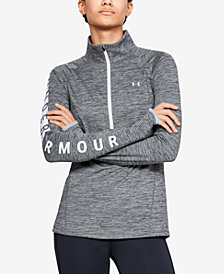 Under Armour Cold Gear Armour Graphic Half Zip Top