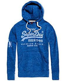 Superdry Men's Premium Goods Logo Graphic Hoodie