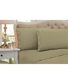 New Leaf Full 4 Pc Sheet Set