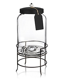 Franklin 3-Gallon Beverage Dispenser with Tag & Stand