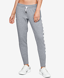 Under Armour Fleece Logo Joggers