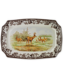 Spode Woodland  Rectangular Platter