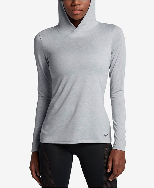 ed791a069 Nike Dry Legend Hooded Top & Reviews - Tops - Women - Macy's