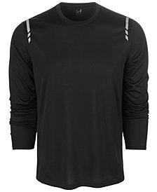ID Ideology Men's Mesh-Back Long Sleeve T-Shirt, Created for Macy's