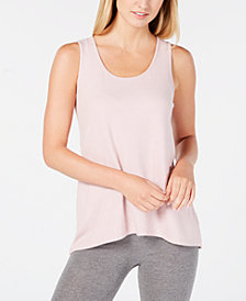 Alfani Brushed Hacci Knit Pajama Tank, Created for Macy's