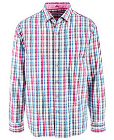 Tommy Bahama Men's Palmar Plaid Shirt