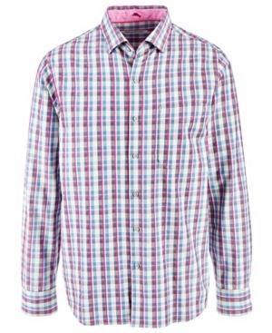 Tommy Bahama Men's Palmar Plaid Shirt
