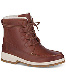 Sperry Maritime Lace-Up Combat Boots