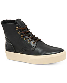 Frye Men's Beacon High-Top Leather Lace Up Sneakers