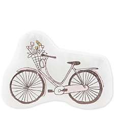 Urban Dreams Minette Bicycle Shaped Pillow, Created for Macy's