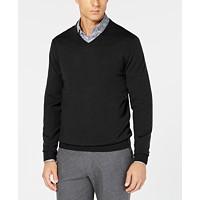 Tasso Elba Men's Merino Wool V-Neck Sweater (Multiple Colors)