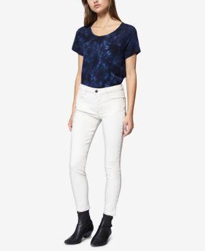 Social Standard Ankle Skinny Jeans, Salt