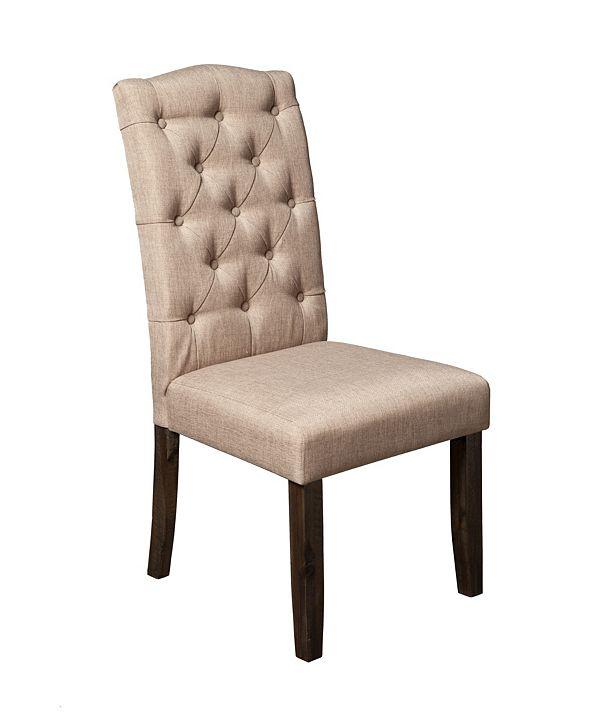 Alpine Furniture Newberry Parson Chair, Set of 2