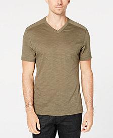 I.N.C. Men's Ribbed V-Neck T-Shirt, Created for Macy's