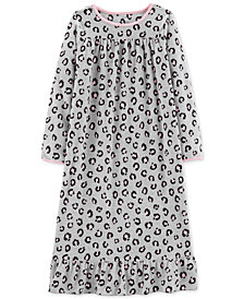 Carter's Little & Big Girls Printed Fleece Nightgown